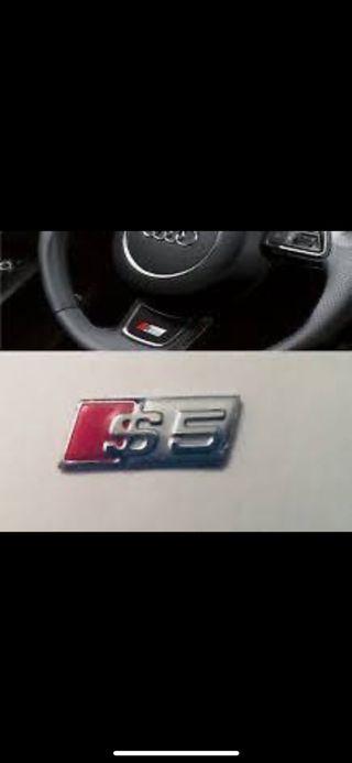 Emblema 3d metálicos para volante