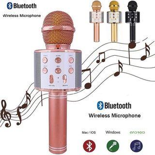 Micrófono inalámbrico Bluetooth WS-858
