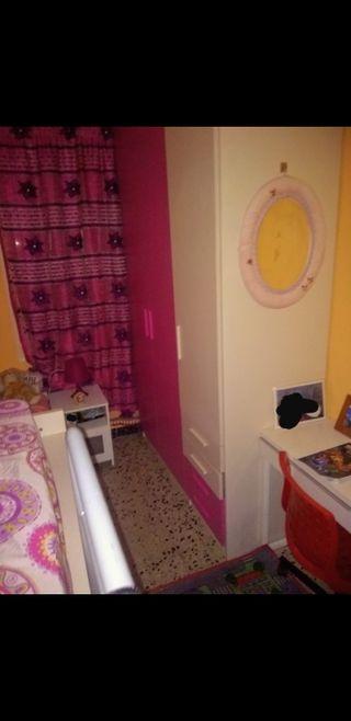 habitación infantiles dos camas y armario grande