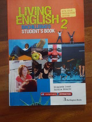 Libro Living English 2 bachillerato students book