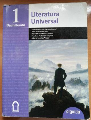 Libro Literatura Universal 1 Bach. Algaida
