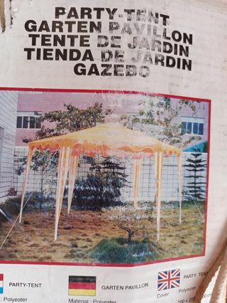 tienda de jardin toldo pergola