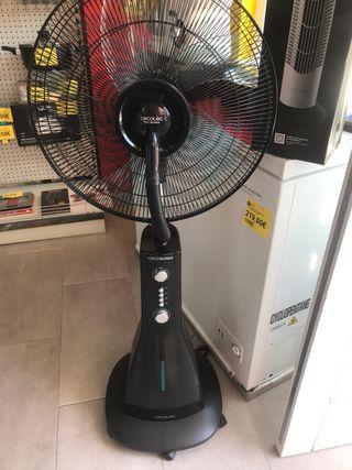 Ventilador con nebulizador y mando NUEVO