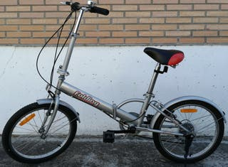 Bicicleta urbana plegable.