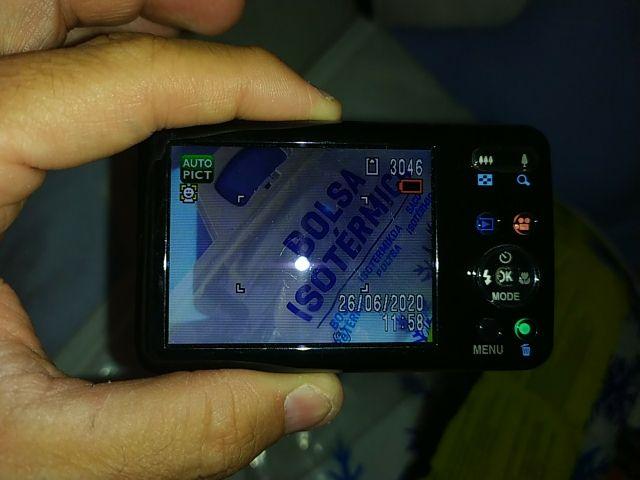 Cámara de fotos digital Pentax Óptimo S1