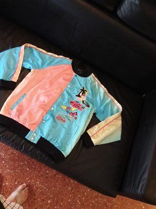 chaqueta tipo bomber pink dolphin negociable