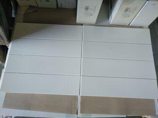azulejo porcelanico 10*40 blanco brillo
