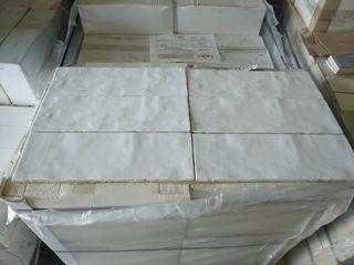 azulejo porcelanico 13*39 blanco brillo irregular