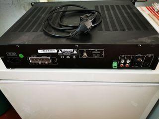 mezclador amplificador Golmar con mp3 y radio