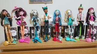 Pack muñecas Monster high