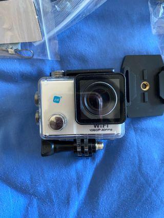 Cámara para fotos y vídeos acuatica