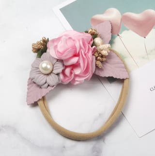 Floral Headband Handmade