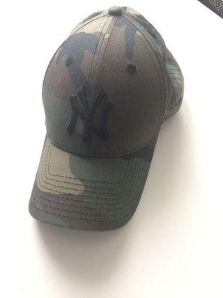 Gorra New York Yankees original camuflaje