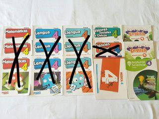Libros texto y lectura 4° de primaria