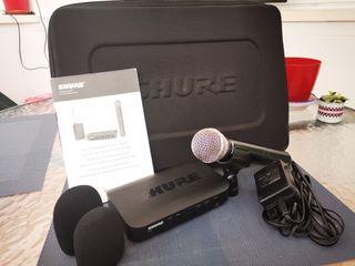 Micrófono Inalámbrico Shure BLX24 / SM58