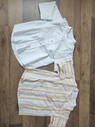 Camisas bebé Neck&neck 6 meses