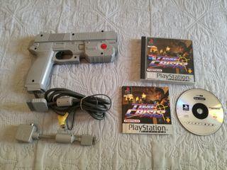 Time Crisis Y Pistola Namco Para PlayStation 1