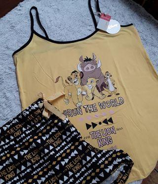 Pijama corto El Rey León talla L