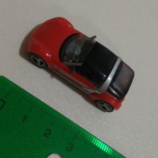 cochecito miniatura kinder ferrero roadster coupe