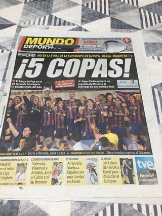 Diario Periodico 5 Copas.