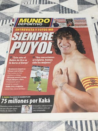 Diario periodico mundo deportivo