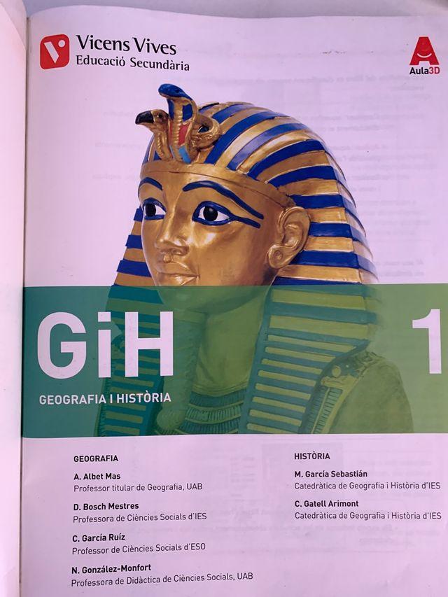 Geografia i Història. 1r ESO