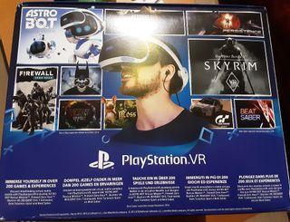 PlayStation VR + Cámara + VR Worlds