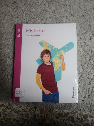 Libro Historia Santillana 4 ESO
