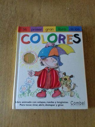 Libro infantil de Los Colores