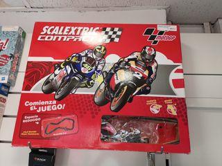 Circuito Scalextric Compact moto gp