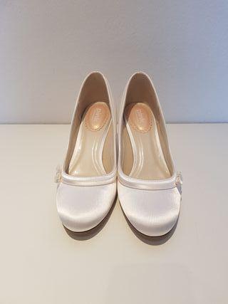 Zapatos novia, número 38