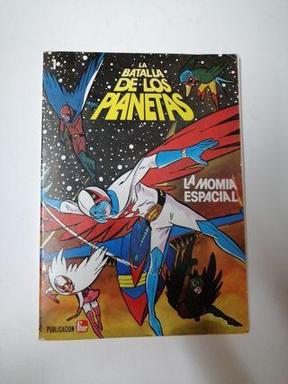 comics la batalla de los planetas