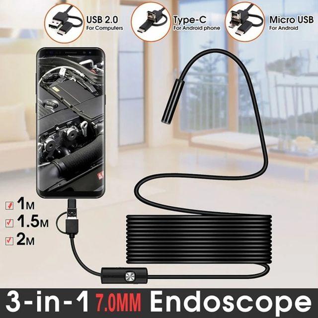 camara de endoscopio