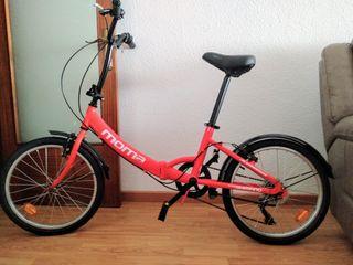 A ESTRENAR Bicicleta Plegable Moma First Class 20