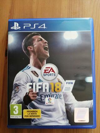 Videojuego Fifa18