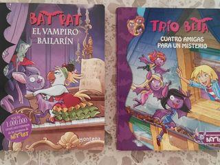 libros infantiles de bat pat y del trio beta