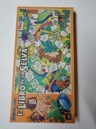 juego de mesa el libro de la selva