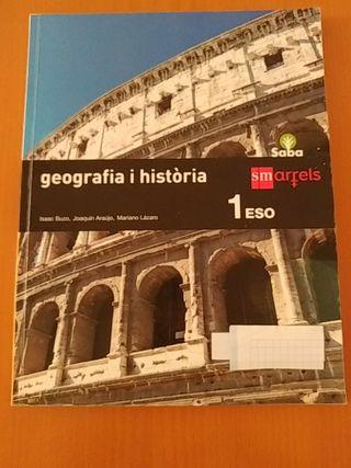 Libro primero 1 ESO Geografia i Historia SM