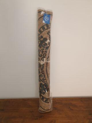 NUEVA - Alfombra jute mandala natural negro 90cm