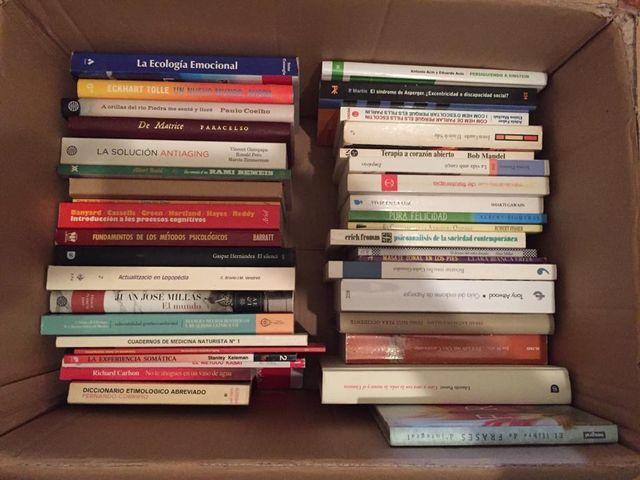 Coleccion libros antiguos de medicina y salud