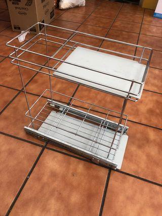 Dispensador para interior alacena -Estante cocina