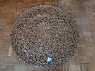 NUEVA - Alfombra fibra natural redonda (150x150cm)