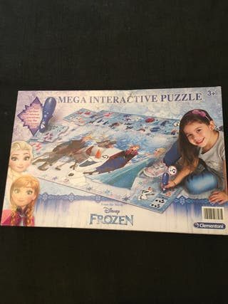 Mega interactive puzzle FOZEN marca clementoni