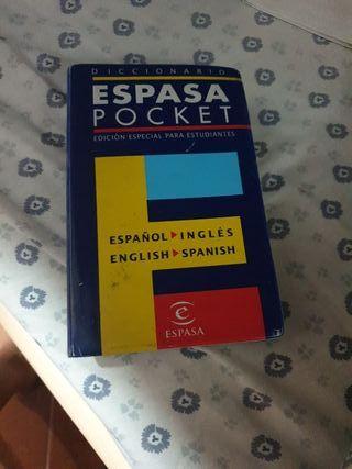 diccionario ingles espasa pocket