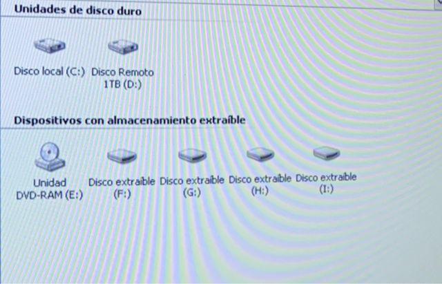 Ordenador Windows XP SP3 Disco1TB+Disco(C:)