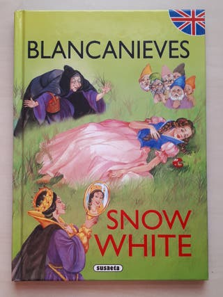 Blancanieves Snow White cuento inglés