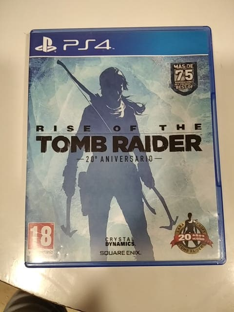 Rise of the Tomb Rider PS4