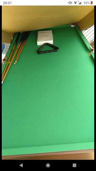 foldable pool and snooker table