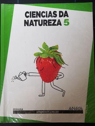 Libro CIENCIAS NATURAIS 5° primaria ANAYA