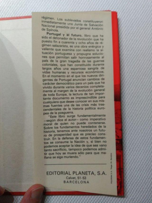 """""""Portugal y el futuro"""" António de Spínola"""